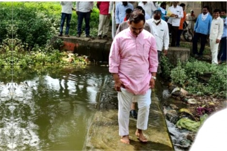 dam-jalpujan-water-conservtion-water-solution-work-by-kishore-shitole