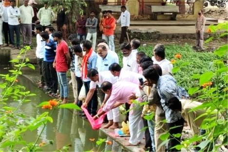 jalpujan-event-kishore-shitole-bjp-political-leader-aurangabad