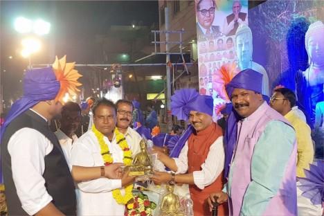 bhim-jayanti-political-leader-aurangabad-kishore-shitole-bjp