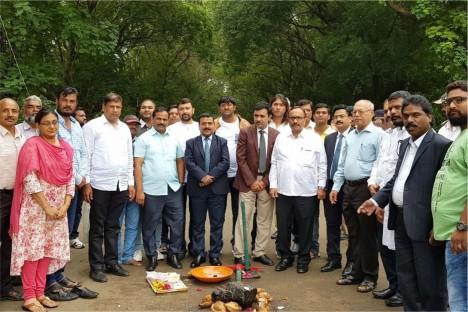 inaugration-land-kishore-shitole-bhartiya-janta-part-member